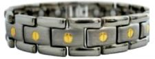 Buy HEALING PAIN REDUCE STRESS IMPROVE SLEEP MAGNETIC Titanium Bracelet EJWJ-456SG