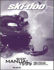 Buy 1999 Ski-Doo Grand Touring / Formula III / Mach 1 Service Repair Shop Manual CD