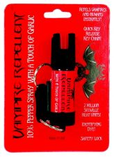 Buy NEW! Vampire Repellent 1/2 oz pepper spray with a touch of garlic