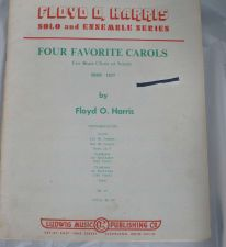 Buy Four Favorite Carols for Brass Choir / Sextet - Harris