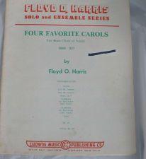 Buy Four Favorite Carols for Brass Choir / Sextet - Harris