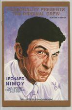 Buy LEONARD NIMOY Personality Presents the Original Crew #2 VF/NM B&W 1991 ComicBook