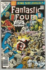 Buy Fantastic Four Annual #13 MOLE MAN HighGradeBillMantlo Sal Buscema Marvel Comics