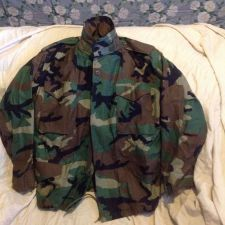 Buy Army Cold Weather Field Jacket Sz Med Short EUC