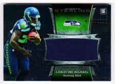 Buy NFL 2013 Bowman Sterling Christine Michael Jersey /1214 MNT