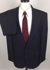 Buy Barrington Suit Mens 44 L Gray Wool Blazer Jacket Pants