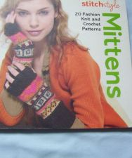 Buy Stitch Style Mittens Pattern Book to Knit and Crochet