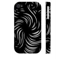 Buy Pole Black White Iphone 4/4S Phone Case
