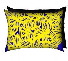 Buy Lumbreras 18x18 Black White Pillow Flowers Floral Botanical Cover Cushion Case Throw