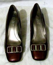 Buy EUC Women's Franco Sarto Classic Pumps Shoes 6 M L-Flexor Leather Upper Burgundy