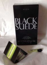 Buy Avon Black Suede Cologne Spray 3.4 fl oz NIB plus Untouchable Sample