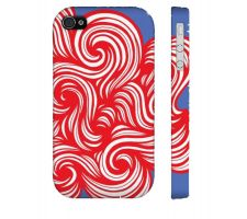 Buy Albero Red Blue Iphone 4/4S Phone Case