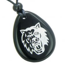Buy Amulet Power of Infinite and Supernatural Love Protection Black Agate Pendant Necklac