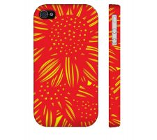 Buy Stoviak Yellow Red Iphone 4/4S Apple Phone Case Flowers Botanical