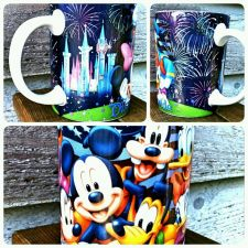 Buy Disney Dreams Florida Mug Jerry Leigh Mickey Donald Goofy Minnie Daisy Cup EUC