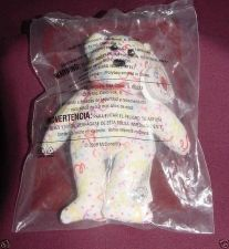 Buy Streamers the Bear #9 2009 Ty Teenie Beanie McDonalds Happy Meal Toy Retired