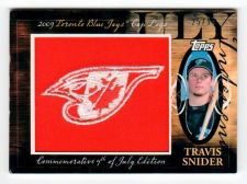 Buy MLB 2010 Topps Travis Snider LOGO Patch /99 MNT