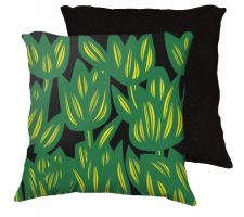 Buy Mcwright 18x18 Red Yellow Black Pillow Flowers Floral Botanical Cover Cushion Case Th