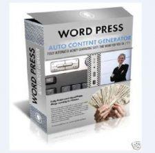 Buy Wordpress Auto Content Generator On CD