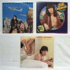 Buy ROLLING STONES' SOLO ALBUMS ~ Lot of ( 3 ) Rock LPs