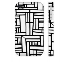Buy Kotyk Black White Iphone 4/4S Phone Case