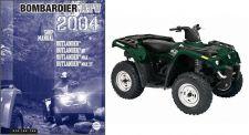 Buy 2004-2005 Can-Am Outlander XT Max Service Repair Shop Manual CD ----- BRP 400 800
