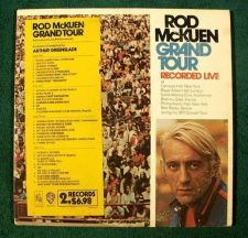 Buy ROD McKUEN ~ Rod McKuen Grand Tour 1971 DOUBLE Live Album LP