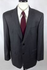 Buy Loro Piana Blazer 42 R Gray Wool 2 Button Jacket Mens