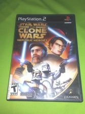 Buy STAR WARS CLONE WARS SONY PLAYSTATION 2 TESTED AND WORKING