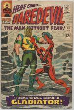 Buy Daredevil #18 MARVEL COMICS 1966 Stan Lee Johnny Romita 1st & Origin: Gladiator