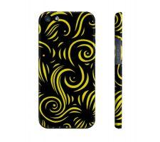 Buy Schones Yellow Black Iphone 5/5S Phone Case