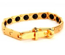 Buy HEALING PAIN REDUCE STRESS IMPROVE SLEEP MAGNETIC GOLD PLATED Bracelet EJNP-P021