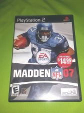 Buy MADDEN 07 SONY PLAY STATION 2 TESTED AND WORKING