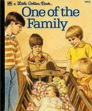 Buy 1983 One of the Family-Little Golden Book-Harcover-Illustrated-No. 208-42
