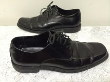 Buy CALVIN KLEIN MEN'S BLACK LEATHER DRESS SHOES SIZE 9M
