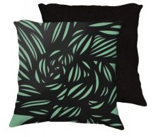 Buy Snaza 18x18 Green Black Pillow Flowers Floral Botanical Cover Cushion Case Throw Pill