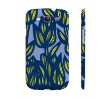 Buy Nolet Yellow Blue Flowers Samsung Galaxy S3 Phone Case