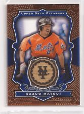 Buy MLB 2004 KAZ KAUO MATSUI METS 2004 UPPER DECK GAME USED BAT RELIC MNT