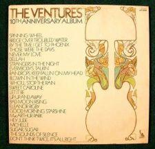 Buy THE VENTURES ~ 10th Anniversary Album 1970 DOUBLE Pop Rock LP