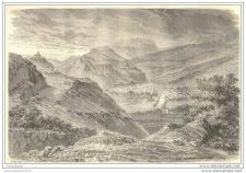 Buy FRANCE - VIEW OF MURAT - engraving from 1866