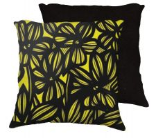 Buy Amidei 18x18 Yellow Black Pillow Flowers Floral Botanical Cover Cushion Case Throw Pi