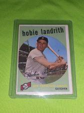 Buy VINTAGE HOBIE LANDRITH GIANTS 1958 TOPPS #422 GD/VG