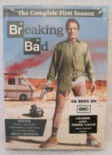 Buy AMC - BREAKING BAD first Season 1 (one) DVD 3 Disc 2009 BOXED SET Bryan CRANSTON
