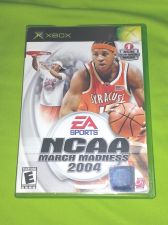 Buy NCAA MARCH MADNESS 2004 MICROSOFT XBOX TESTED AND WORKING