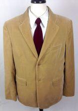 Buy Theory Blazer Mens 44 R Beige Cotton Smoking Jacket