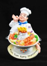 Buy 3D SCULPTURE FRIDGE MAGNET MEMORIAL TOM YUM KUNG THAI FOOD SOUVENIR COLLECTIBLE