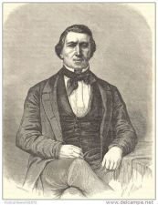 Buy USA - BRIGHAM YOUNG (MORMON) PORTRAIT - engraving from 1862