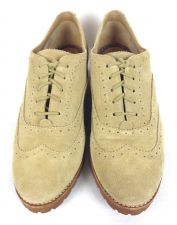 Buy Sperry Top Siders Shoes 9 Womens Beige Suede Oxfords