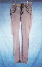 Buy EUC women's sz. 0 HOT KISS, blue acid wash skinny leg jeans