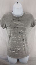 Buy Abercrombie & Fitch New York Womens Size M, Short Sleeve Shirt Graffitti (11)